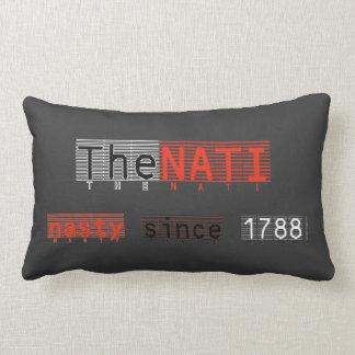 Almohada de tiro desagradable de NATI de Cincinnat