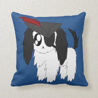 Almohada de tiro desaliñada linda del perrito del cojín decorativo