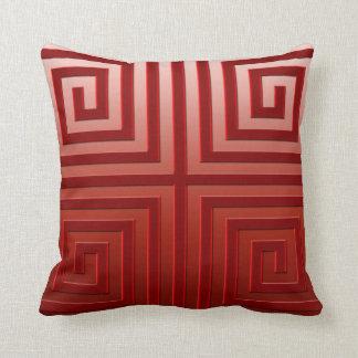 Almohada de tiro - diseño gráfico, color de Borgoñ