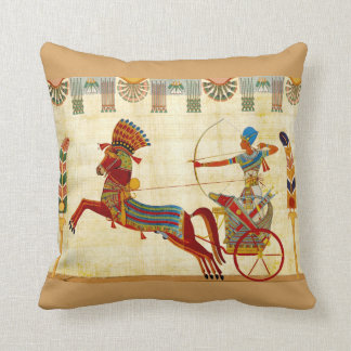 Almohada de tiro egipcia del diseño (a) cojín decorativo