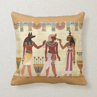 Almohada de tiro egipcia del diseño (b) cojín decorativo