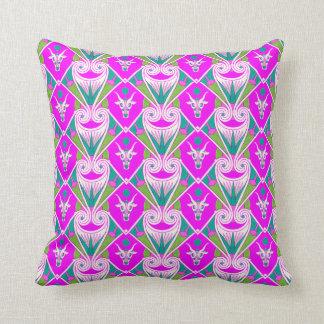 Almohada de tiro egipcia del diseño en violeta bri