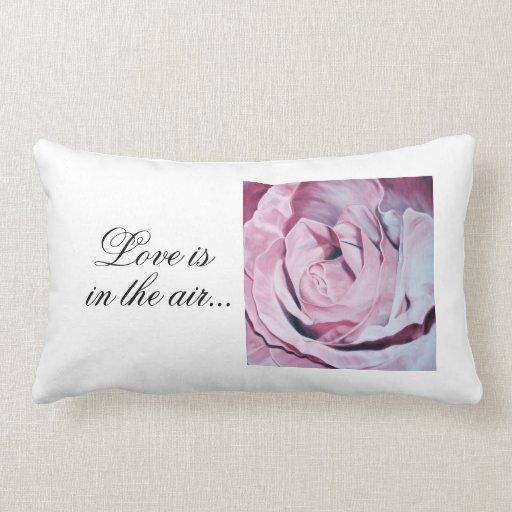 Almohada de tiro elegante del rosa color de rosa d