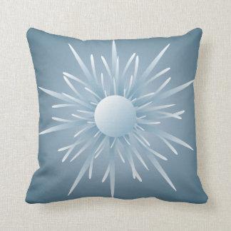 Almohada de tiro extranjera azul de la forma de vi