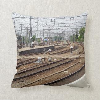 Almohada de tiro ferroviaria