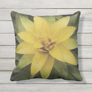 Almohada de tiro floral al aire libre de la flor cojín decorativo