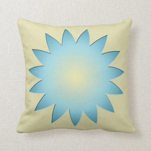 Almohada de tiro floreciente de la flor
