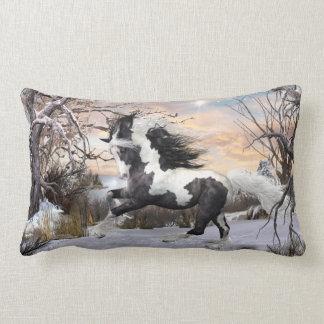 Almohada de tiro gitana del caballo de Vanner