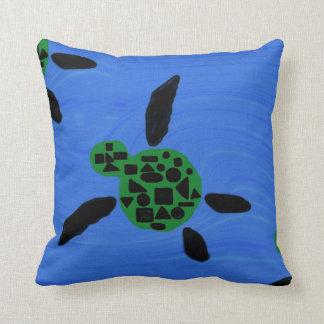 Almohada de tiro hawaiana de la tortuga de mar de