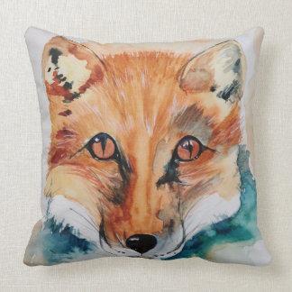 Almohada de tiro hermosa de la pintura del Fox del