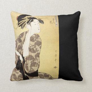 Almohada de tiro hermosa del diseño del japonés