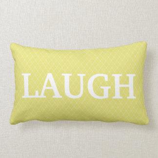 Almohada de tiro inspirada verde de la palabra