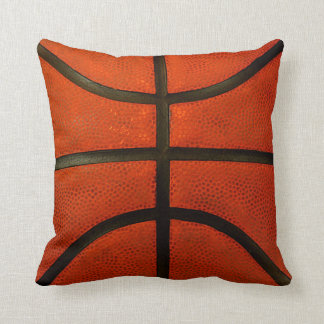 Almohada de tiro llevada rústica del baloncesto cojín decorativo