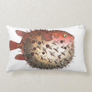 Almohada de tiro lumbar del diseño de los pescados cojín lumbar