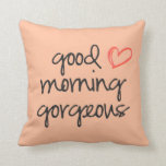 Almohada de tiro magnífica de la buena mañana