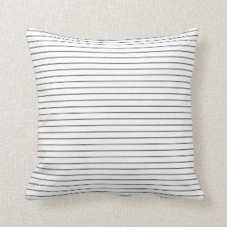 Almohada de tiro minimalista del diseñador