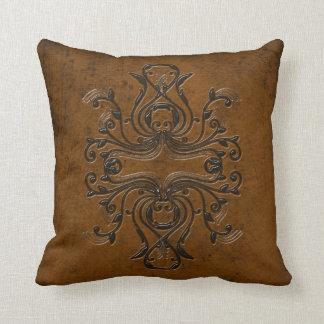 Almohada de tiro - naranja/Brown con clase