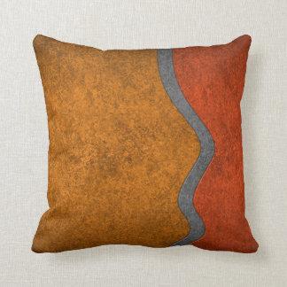 Almohada de tiro - naranja del viraje