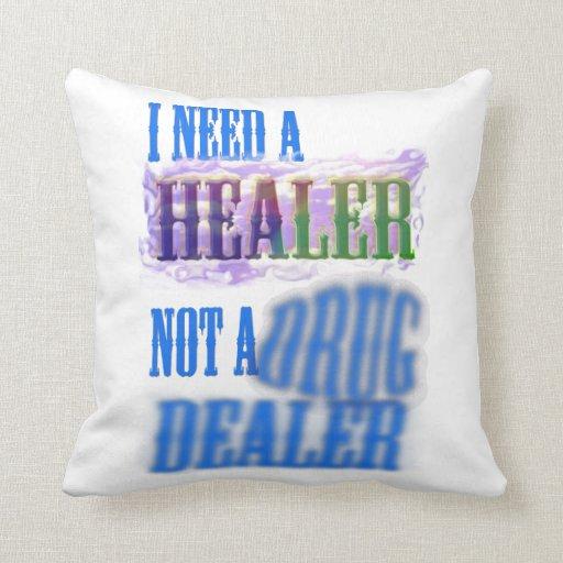 Almohada de tiro - necesito a un curador no un
