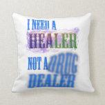 Almohada de tiro - necesito a un curador no un tra