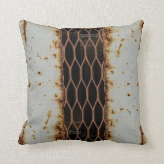 Almohada de tiro oxidada de la rejilla