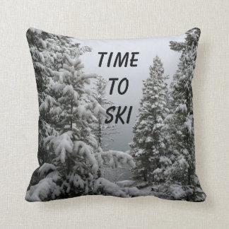 Almohada de tiro para los esquiadores