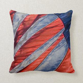 Almohada de tiro patriótica de la bandera