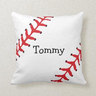 Almohada de tiro personalizada del béisbol