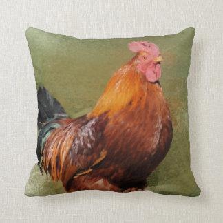 Almohada de tiro pintada aceite del pollo