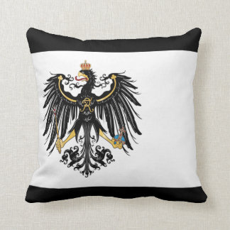 Almohada de tiro prusiana de la bandera cojín decorativo