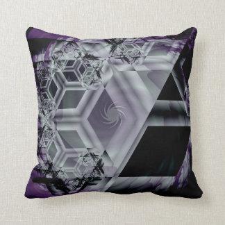 Almohada de tiro púrpura de la tonalidad