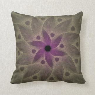Almohada de tiro púrpura del extracto de la flor