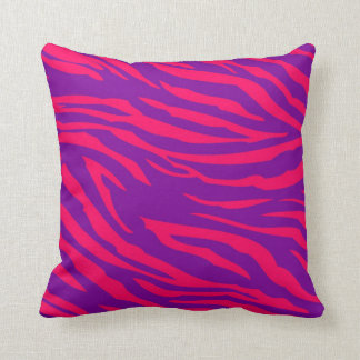 Almohada de tiro púrpura del sofá del estampado de
