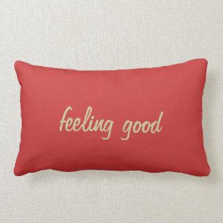 Almohada de tiro que se siente bien