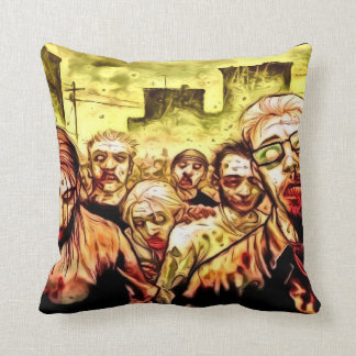 Almohada de tiro radiactiva de los zombis
