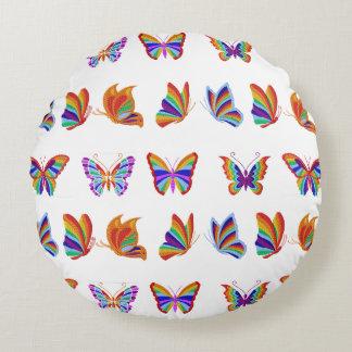 Almohada de tiro redonda de Buterflies del arco Cojín Redondo