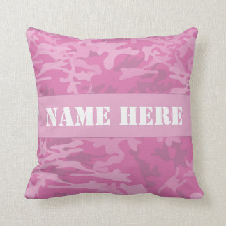 Almohada de tiro rosa clara conocida de encargo cojín decorativo