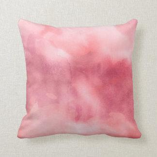 Almohada de tiro - rosas de la acuarela cojín decorativo