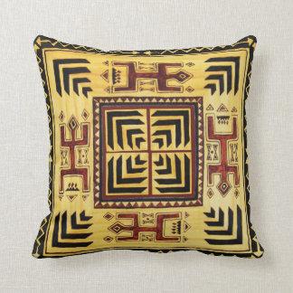 Almohada de tiro tribal africana cojín decorativo