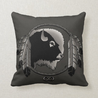 Almohada de tiro tribal personalizada almohada