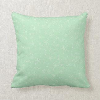 Almohada de tiro tropical verde del modelo de