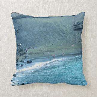 Almohada de tiro verde de Hawaii de la playa de