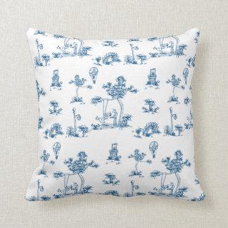 Almohada de Toile del unicornio Cojín Decorativo