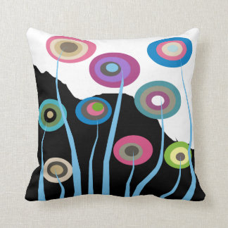 Almohada decorativa 2 de las flores artsy capricho
