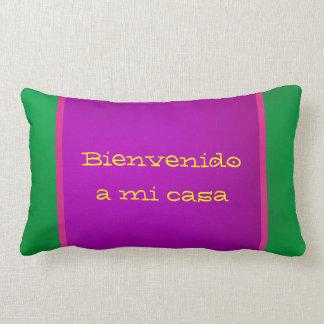 Almohada Decorativa - Bienvenido a mi casa Throw Pillow