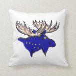 Almohada decorativa de Alaska del estado de los al