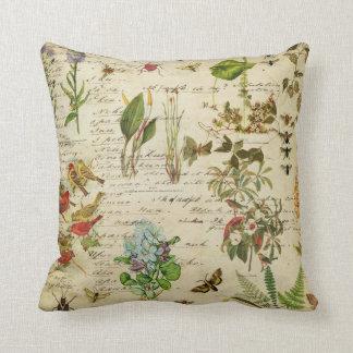 Almohada decorativa de los jardines botánicos