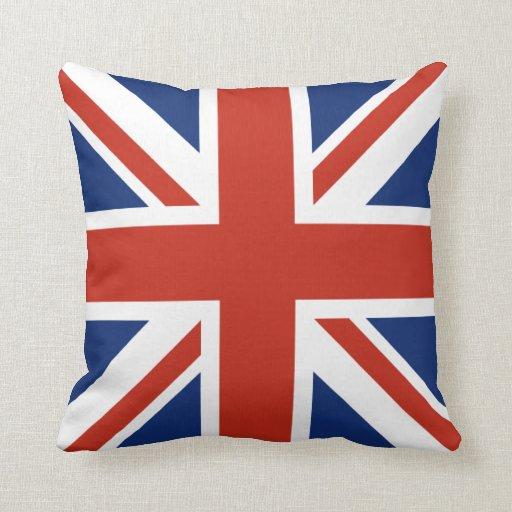 Almohada decorativa de Union Jack