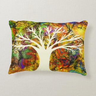 Almohada decorativa del árbol tribal