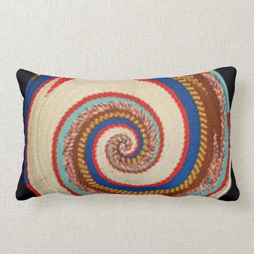 Almohada decorativa del arco iris del Zulú
